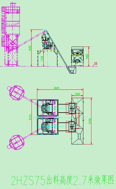 75型混凝土搅拌站是鸿达集团搅拌站系列中的小型产品,是由供料,配料